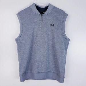 Under Armour Storm Half Zip Vest Gray Size Large